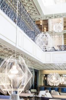 Interior Restaurante LUX Madrid