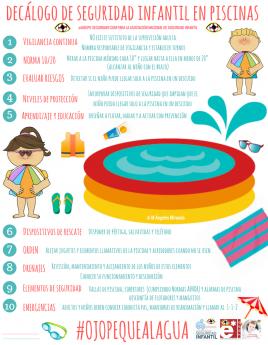 Foto de Decálogo de seguridad infantil en piscinas