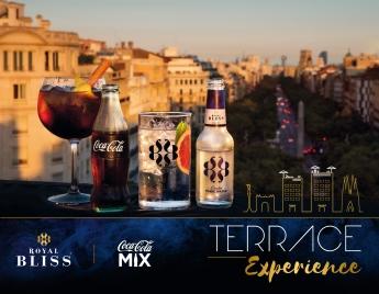 Coca-Cola y Royal Blis lanzan Terrace Experience en las mejores terrazas de los hoteles de barcelona