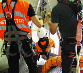 El 60% de los accidentes mortales en espacios confinados son sufridos por los rescatadores