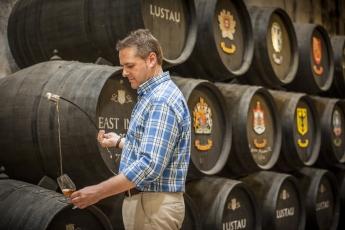Sergio Martínez, de Bodegas Lustau, Mejor Enólogo de Vinos Generosos del Mundo