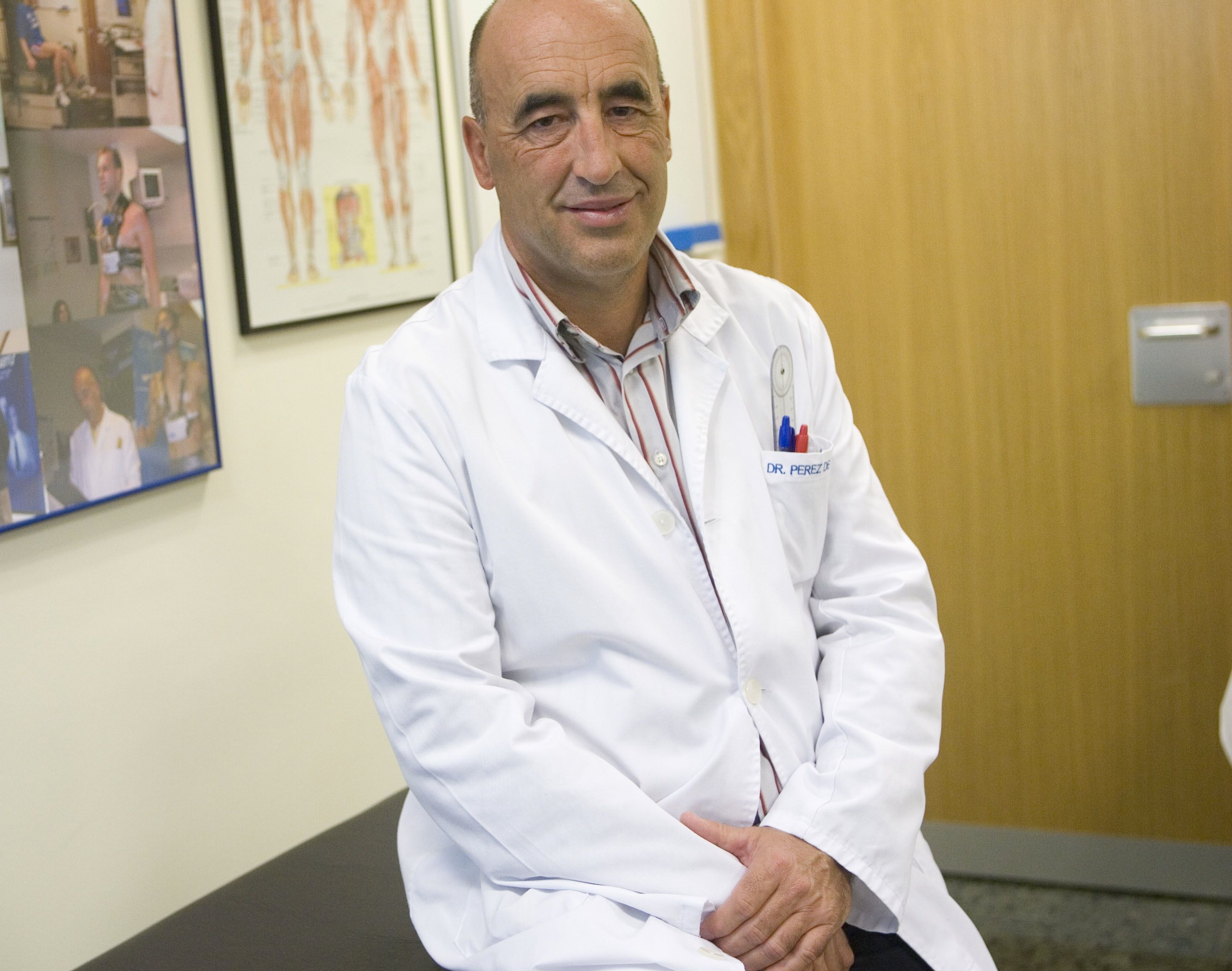 Fotografia Enrique Pérez de Ayala, Jefe del Servicio de Medicina