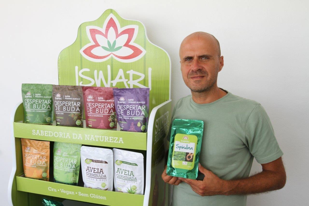 Foto de Gonçalo Sardinha, CEO y fundador de Iswari