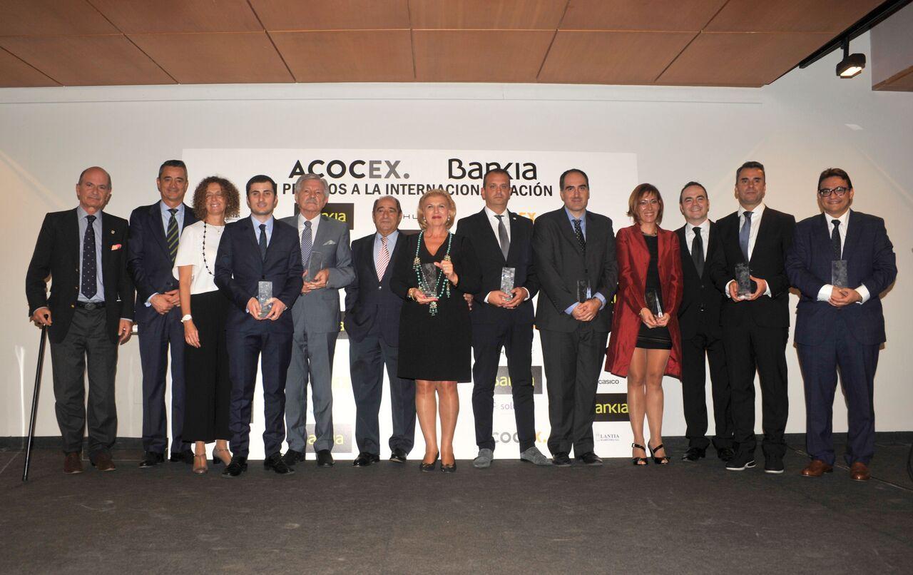 Foto de Premiados ACOCEX en la edición 2016