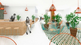 Proyecto de interiorismo de Rosario Arizaga, alumna de IED Madrid