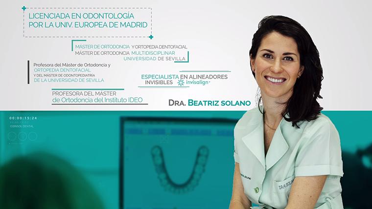 La Dra Beatriz Solano, parte del equipo de Coinsol Dental, asiste ...