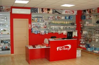 Interior tiendas Fersay