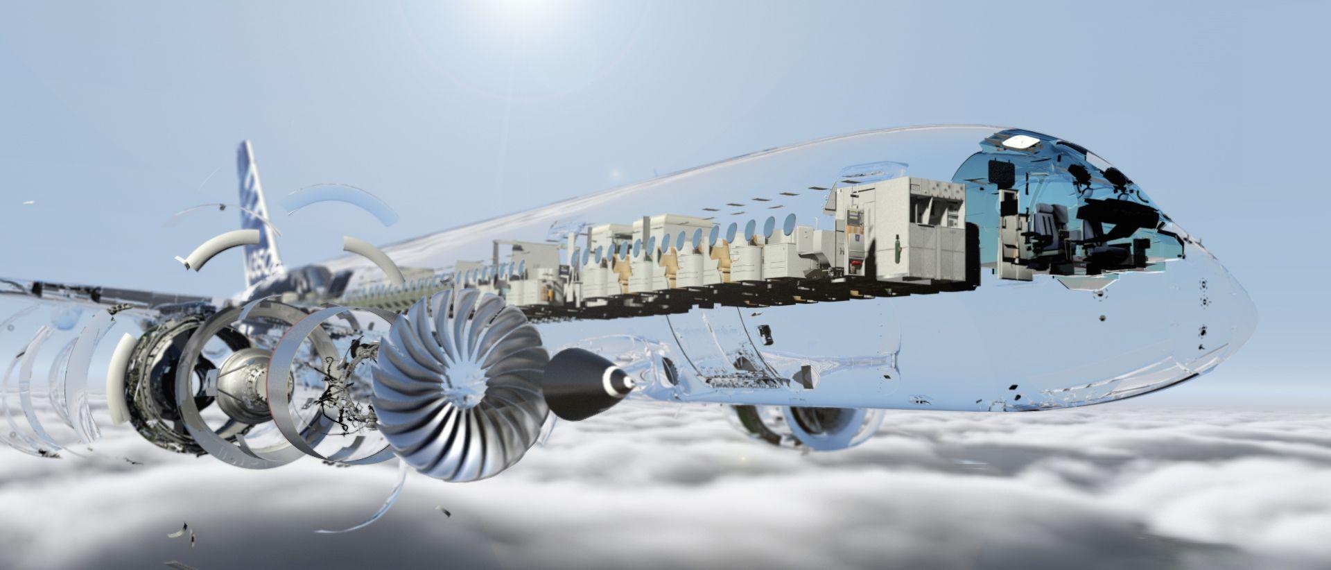 Foto de Radiografía del avión