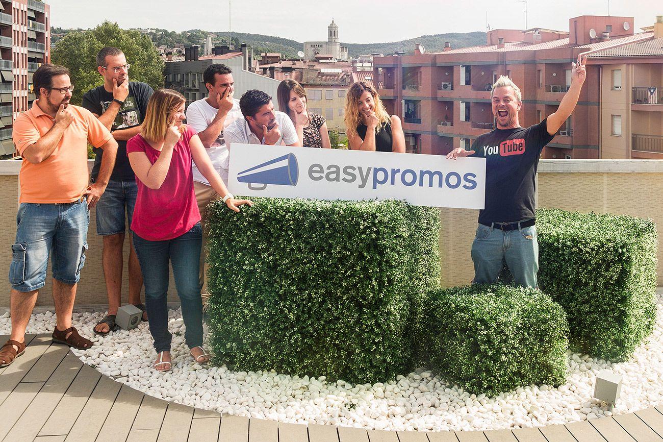 Foto de Equipo Easypromos y JJ