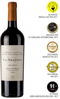 Valtravieso Crianza 2014 se consolida como uno de los mejores vinos de Ribera del Duero en su categoría