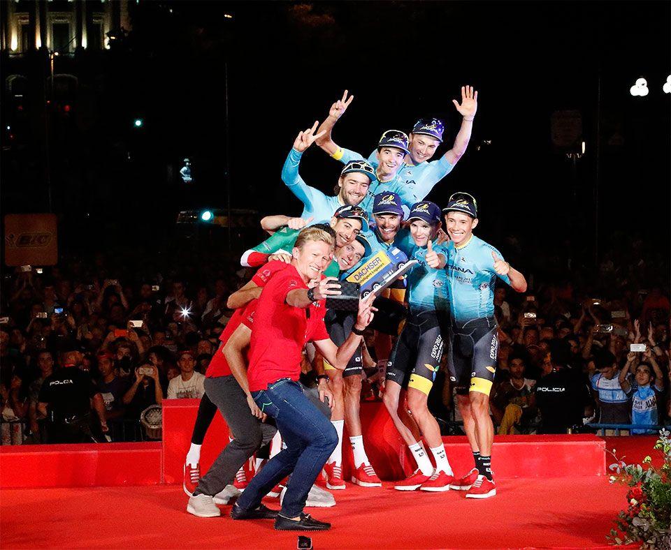 Fotografia 21 etapa de la Vuelta
