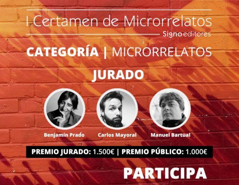 Foto de I Certamen de Microrrelatos Signo editores