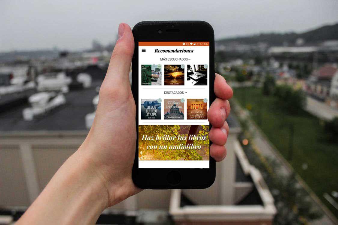 Los audiolibros participan por primera vez en el Hay Festival