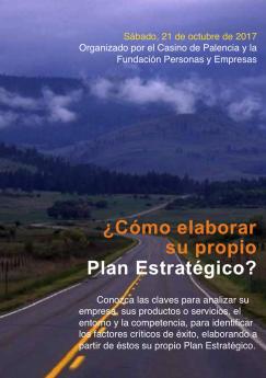 Seminario '¿Cómo elaborar su propio Plan Estratégico?'