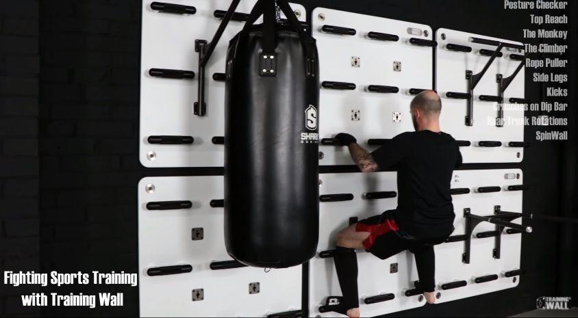 Training Wall ofrece un entrenamiento funcional para deportes de lucha