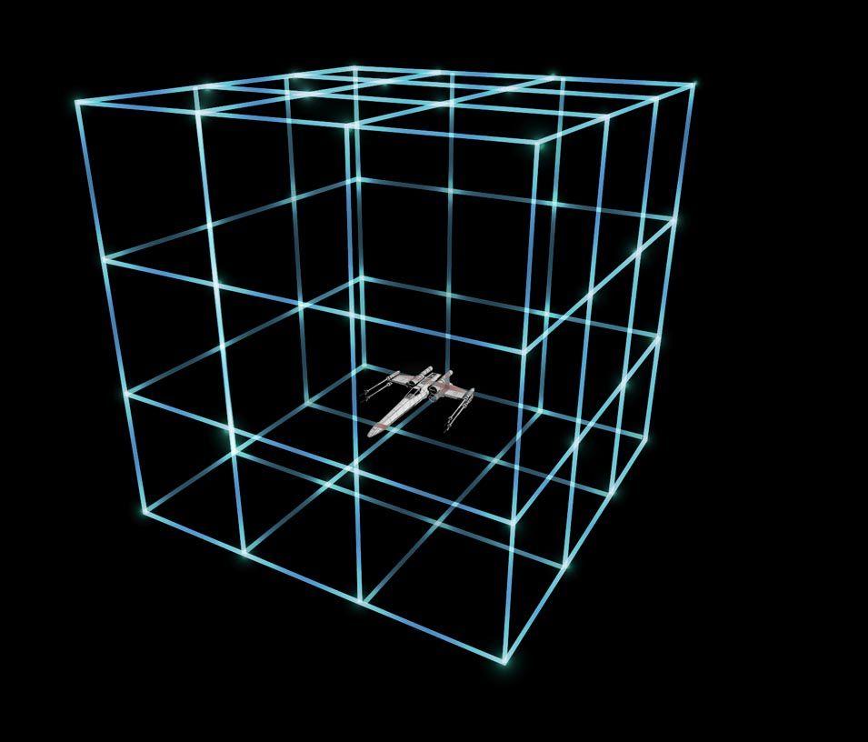 Fotografia Invisible room en el T-Mode de los drones de SW de Propel