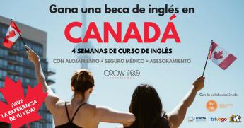 Beca curso de inglés en Canadá GrowPro Experience