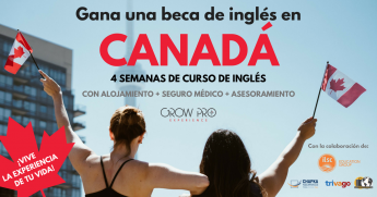 Lanzan beca para estudiar inglés en Canadá