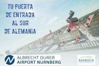 El aeropuerto de Nuremberg, la puerta de entrada al sur de Alemania