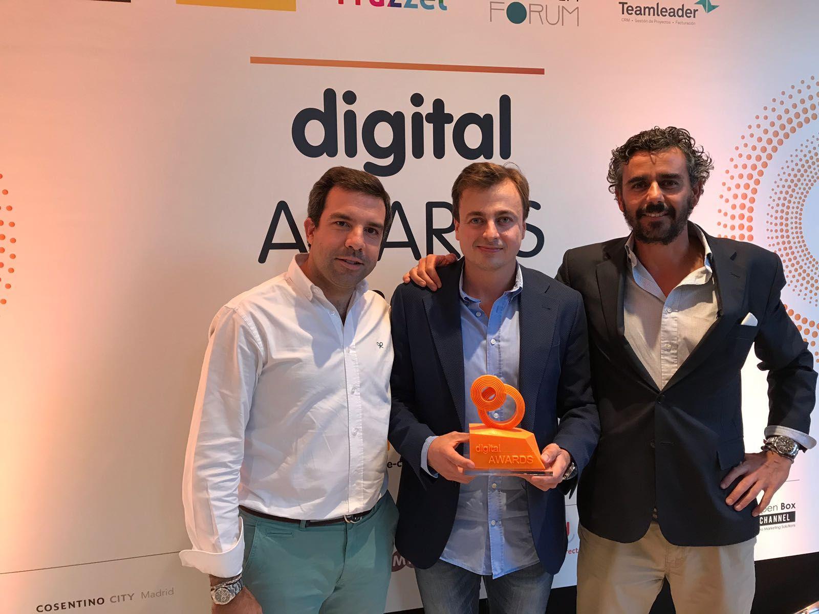 Foto de Mediacore Solutions gana en los Digital Awards