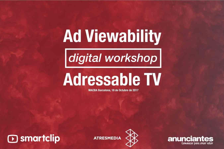 Smartclip y Atresmedia organizan sus primeros Workshops digitales en Barcelona