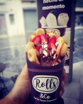 Rolls & Co vuelve a innovar en el mercado español con la presentación de Waffle Roll