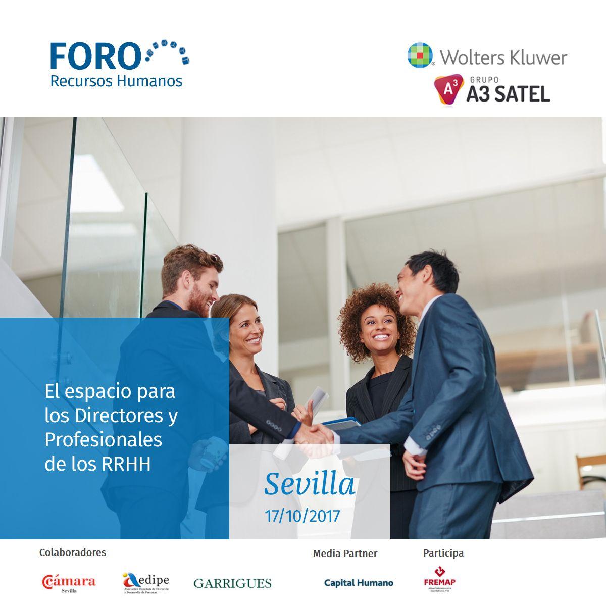 Empresas: Wolters Kluwer y Grupo A3 Satel analizarán el impacto de la transformación digital en las empresas en el II Foro Recursos Humanos de Sevilla   Autor del artículo: Finanzas.com