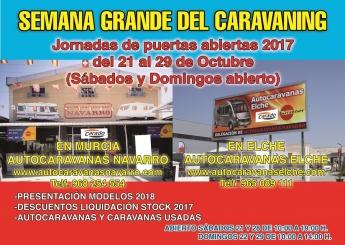 Semana Grande del Caravaning en Murcia y Elche