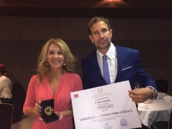 CreaDiseño recibe la Medalla de Oro de la Asociación Española de Profesionales de la Imagen