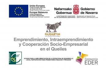 Foto de Logos de entidades e instituciones navarras y europeas