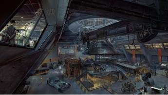 Foto de Interior de hangar en Roswell, EEUU, en el videojuego