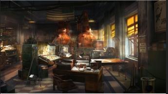 Foto de Interior de estancia en Nueva Orleans, en el videojuego