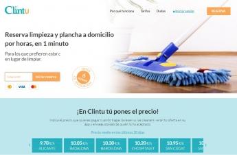 La plataforma online de servicios de limpieza a domicilio Clintu triplica su crecimiento en lo que llevamos de año