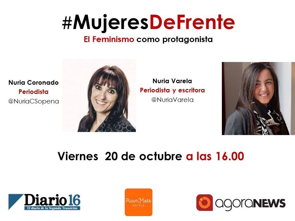 Foto de Nace #MujeresDefrente un programa en el que el #feminismo es