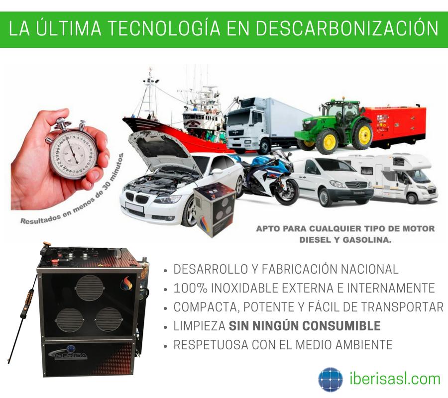 Fotografia Descarbonizadora de motores