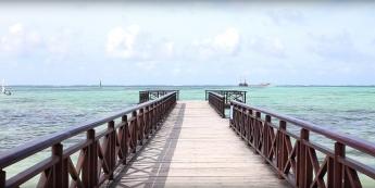 El embarcadero de Barceló Bávaro Grand Resort ofrece la posibilidad de disfrutar del Caribe desde muy cerca