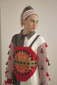 Foto de Modelo de la colección M.I.X. de Liyu Zhu