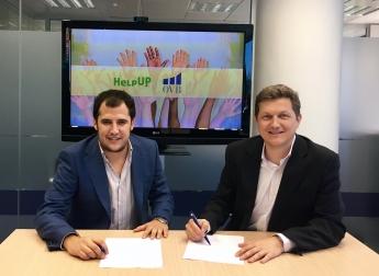 OVB se convierte en la primera empresa en apoyar la revolucionaria plataforma social HelpUp
