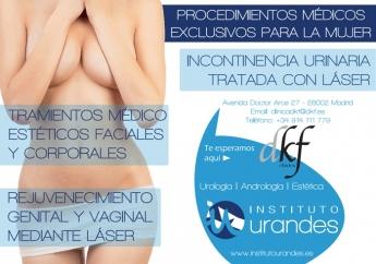 Tratamientos de urología, andrología y medicina estética en Instituto URANDES