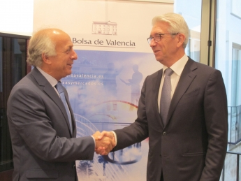 Bolsa de Valencia y Feprova firman un convenio de colaboración