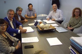 EU Mediterrani y ABE·L se preparan para impulsar la formación logística en Barcelona