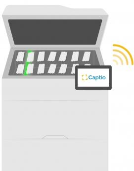 Captio obtiene la digitalización certificada de gastos vía impresora multifunción