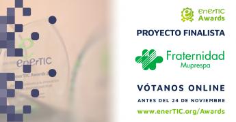 Fraternidad-Muprespa finalista premios enerTIC Awards