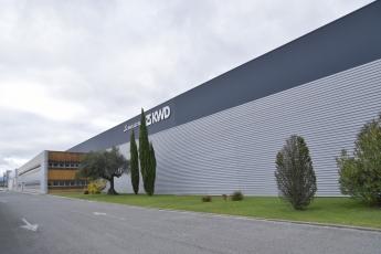 La fábrica de Pamplona és una de las siete del grupo KWD