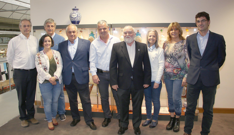 Foto de Representantes de FEFARA junto a responsables del COFG y DFG