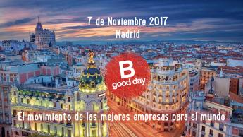 El B Good Day, la cita anual con el movimiento B Corp Spain tendrá lugar en Madrid el 7 de noviembre