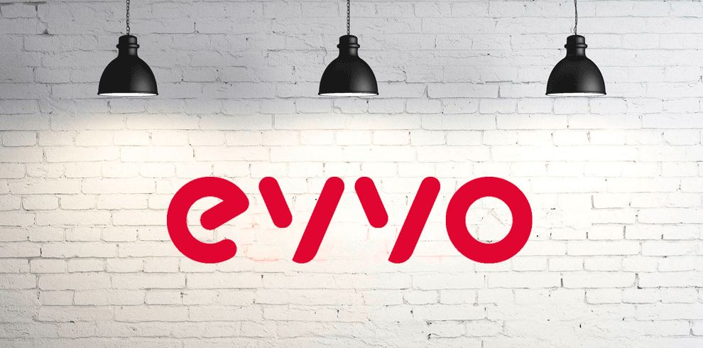 Fotografia Logo EVVO con fondo.
