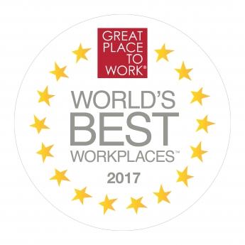 DHL reconocida por Great Place to Work® como una de las mejores empresas del mundo para trabajar