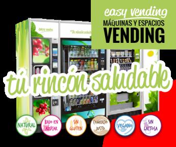 Easy Vending lanza sus nuevos rincones saludables