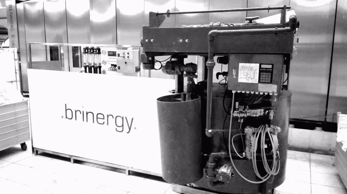 La empresa Brinergy Tech inventa un nuevo sistema de reciclaje de aguas